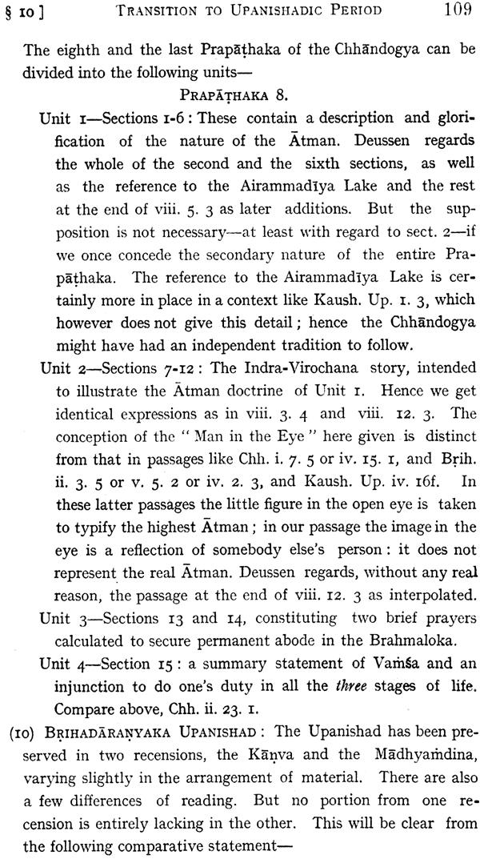upanishadic period