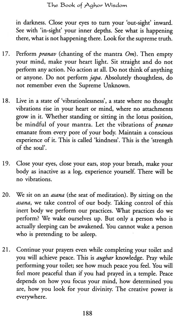 Mahaprabhu Aghoreshwar Baba Bhagwan Ram: The Book of Aghor Wisdom