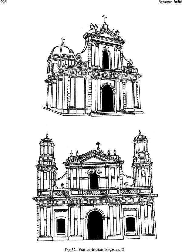 Baroque india the neo roman religious architecture of for Religious buildings in india