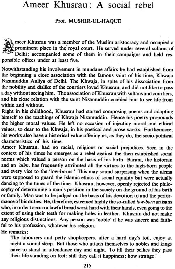 amir khusrau life and works Get this from a library life, times & works of amīr khusrau dehlavi [amīr khusraw dihlavī ẓ anṣārī national amīr khusrau society.