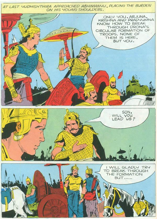 heroes from the mahabharata  bheeshma  drona  tales of