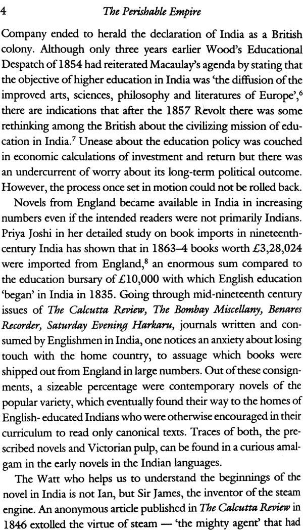 the perishable empire essays on indian writing in english Meenakshi mukherjee, the perishable empire: essays on indian writing in english 60 essential english-language works of modern indian literature.