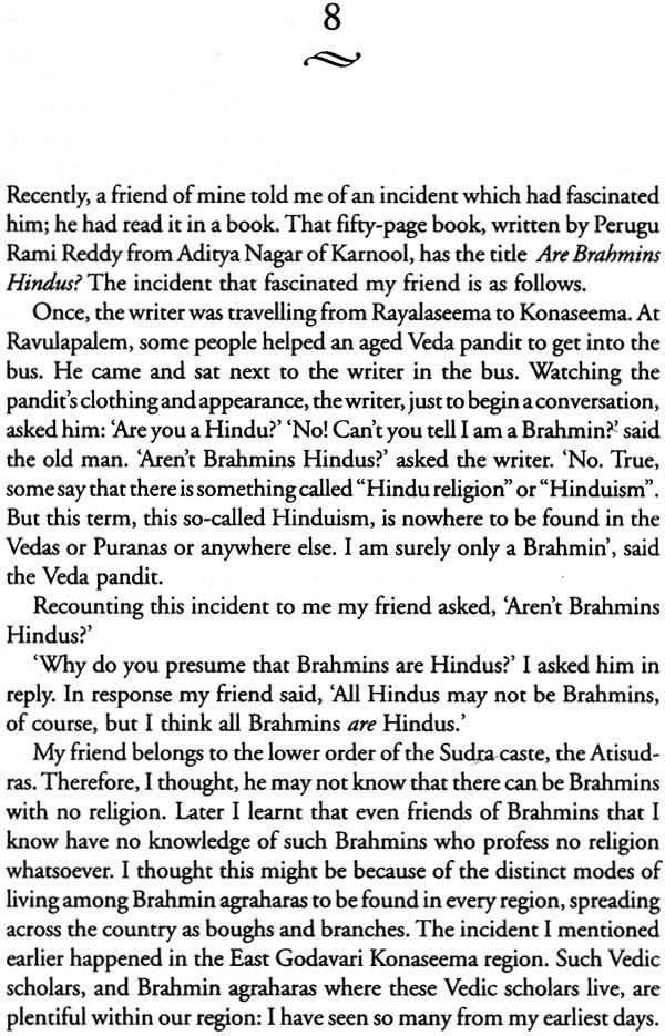 Sanskrit Of The Vedas Vs Modern Sanskrit: The Last Brahmin (Life And Reflections Of A Modern Day