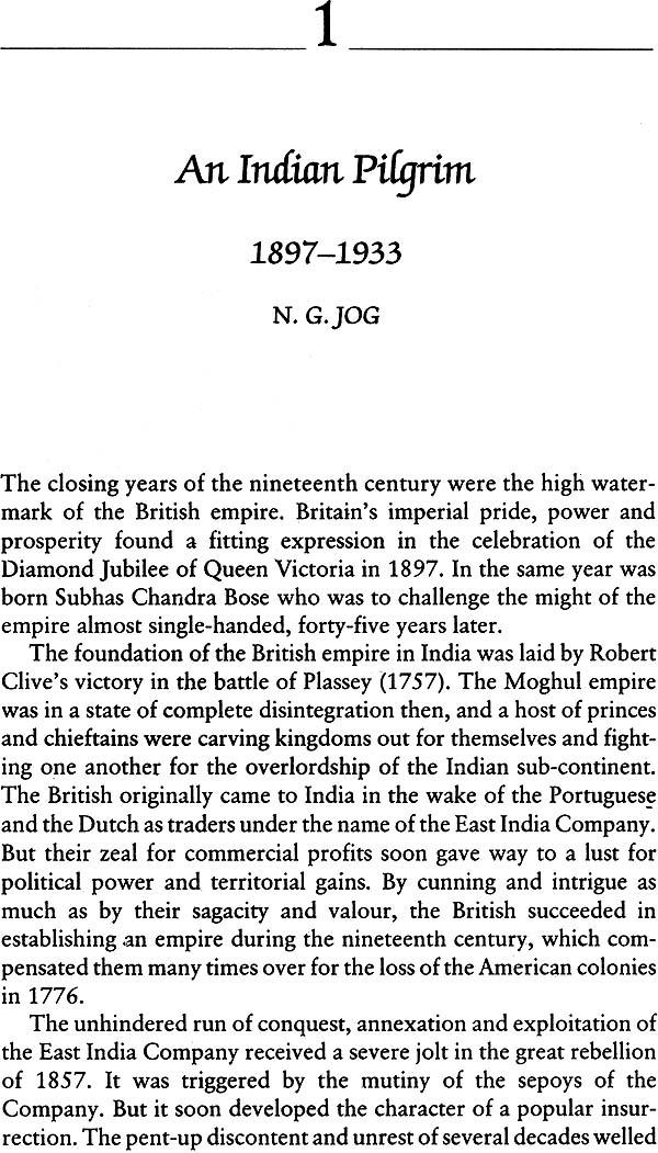 A Beacon Across Asia: A Biography of Subhas Chandra Bose