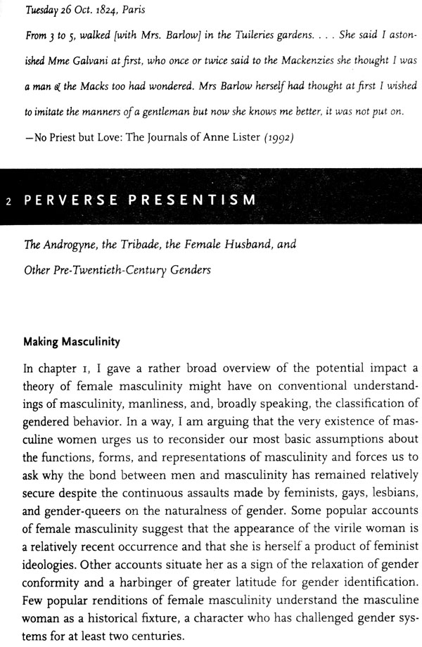 continuum of masculinity Continuum of masculinity defined in homosocial confines tracing from pre-modern to present japan furthermore, simply stopping at the salaryman analogy is rather dismissive of the.