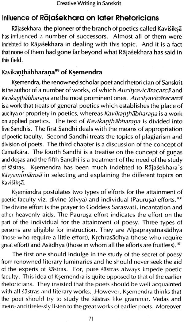 creative writing in sanskrit studies in rajasekhara 39 s