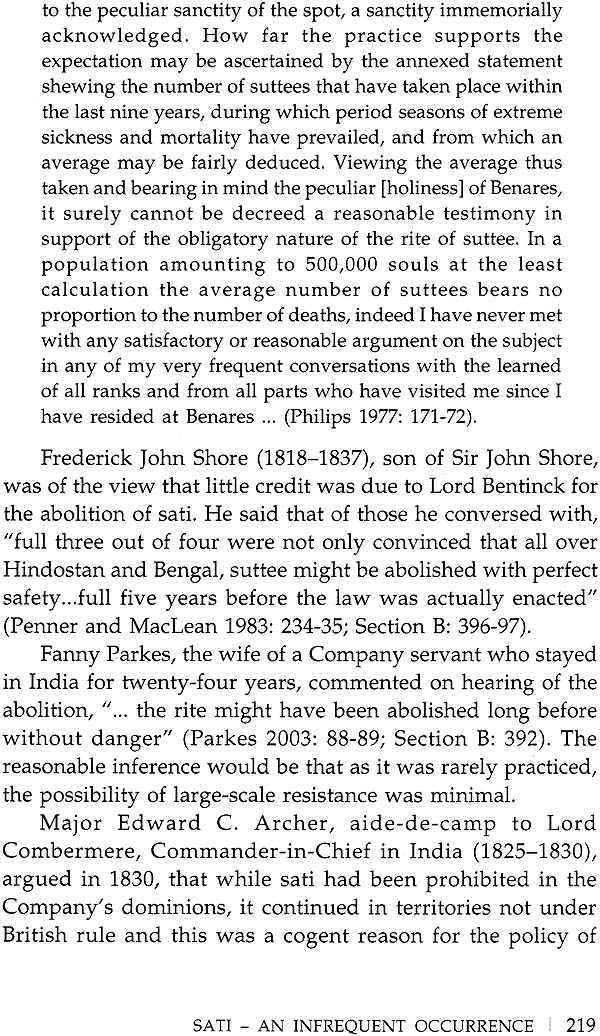sati in india essay Whose sati widow burning in early 19th century india anand a yang intentionally interrogatory, the title of this essay emphasizes the specula-tive nature of my.