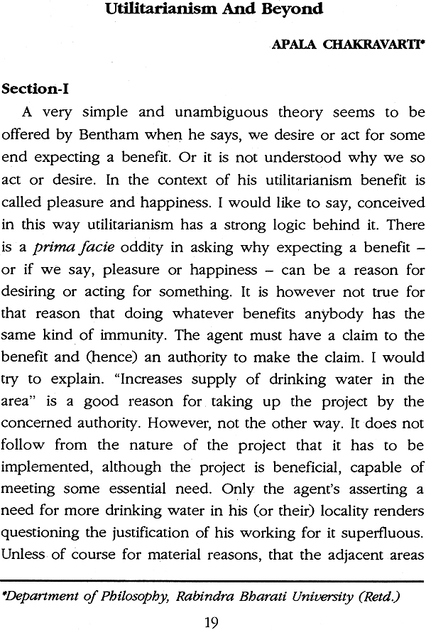 act utilitarianism 2 essay The greater good an essay on utilitarianism according to classical utilitarianism, when a person wishes to act in.