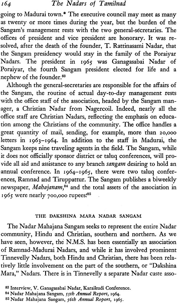 The Nadars of Tamilnad (The Political Cultural of a Community in Change)