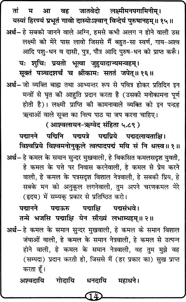 shri suktam pdf in hindi download