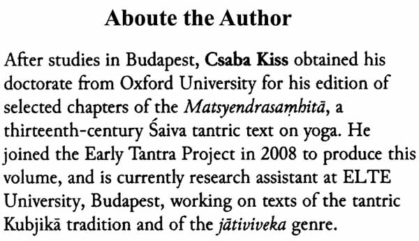 The Brahmayamala Tantra or Picumata (Set of Two Volumes)
