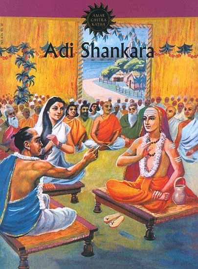 Adi Shankara (Paperback Comic Book)