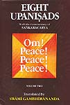 Eight Upanisads: With the Commentary of Sankaracarya (Shankaracharya) (Volume Two)