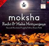Moksha… Rudri & Maha Mrityunjaya (Ganesh, Vandana, Purusha Sukta, Shanti Path) The Powerful Vedic Chanting By 21 Brahmins  (2 Audio CD's)