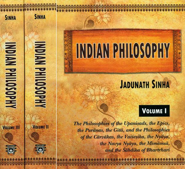 Indian Philosophy(3 Vols. Set)