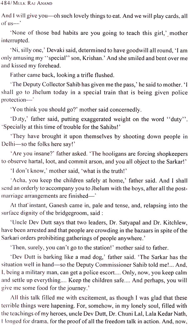 untouchable by mulk raj anand essay This research paper indian lit in english - untouchable and other 63,000+ term papers, college essay examples and free essays are the untouchable by mulk raj anand.