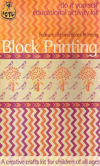 Block Printing: Folk Art of Hand Block Printing (Do it Yourself Educational Activity Kit)