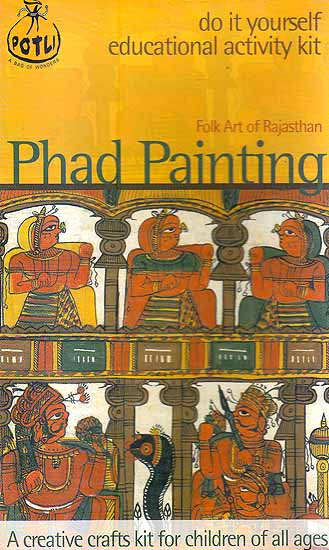 Phad painting folk art of rajasthan do it yourself for Do it yourself mural