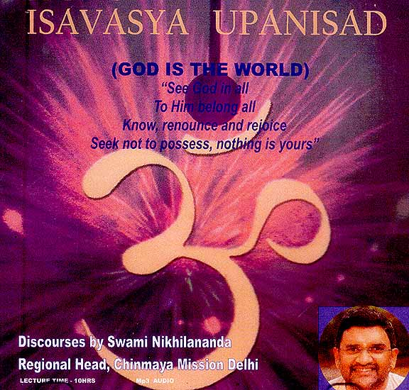 Isavasya Upanishad Discourses (MP3 Audio CD)