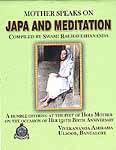 Mother Speaks on Japa and Meditation
