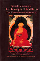 Erich Frauwallner: The Philosophy of Buddhism (Die Philosophie des Buddhismus)