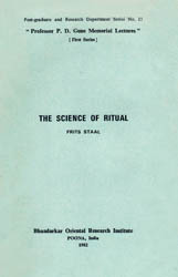 The Science of Ritual (An Old and Rare Book)