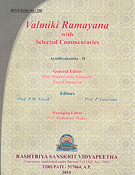 Valmiki Ramayana : Ayodhyakanda Volume-II ((With Sanskrit Text, Roman Transliteration, Word-to-Word Meaning and English Translation))