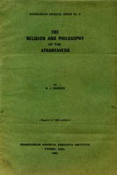 The Religion and Philosophy of the Atharvaveda (Old and Rare Book)