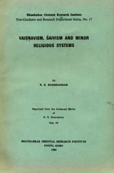 Vaisnavism, Saivism and Minor Religious Systems: A Rare Book
