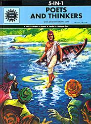 Poets and Thinkers: Kabir, Mirabai, Ekanath, Soordas, Narayana Guru  (A Collection of Comics)