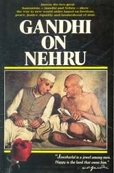 Gandhi on Nehru - A Rare Book