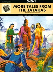 More Tales From The Jatakas (Deadly Feast, Hidden Treasure, Battle of Wits) (Comic Book)