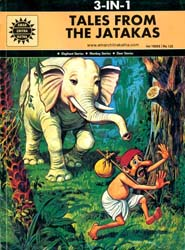 Tales From The Jatakas (Elephant Stories, Monkey Stories, Deer Stories) (Comic Book)