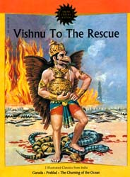 Vishnu To The Rescue (Garuda, Prahlad, The Churning of the Ocean)  (Comic Book)