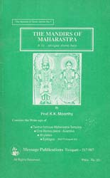 The Mandirs of Maharastra - An Old and Rare Book