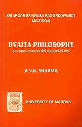Dvaita Philosophy (As Expounded by Sri Madhvacarya)