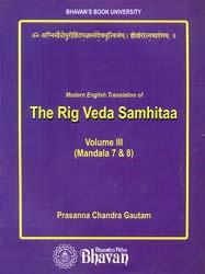 Modern English Translation of The Rig Veda Samhitaa (Volume III)