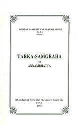 Tarka Samgraha of Annambhatta
