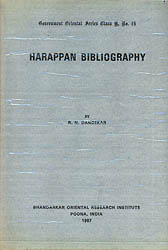 Harappan Bibliography (An Old and Rare Book)