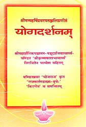 योगदर्शनम्: Yoga Darshanam (A Unique  Commentary on the Yoga Sutras of Patanjali