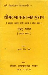 श्रीमद्भागवत महापुराण- परच्छेद, अन्वय, हिन्दी शब्दार्थ व टीका सहित (एकादश स्कन्ध): Shrimad Bhagavata Mahapurana (Eleventh Canto)