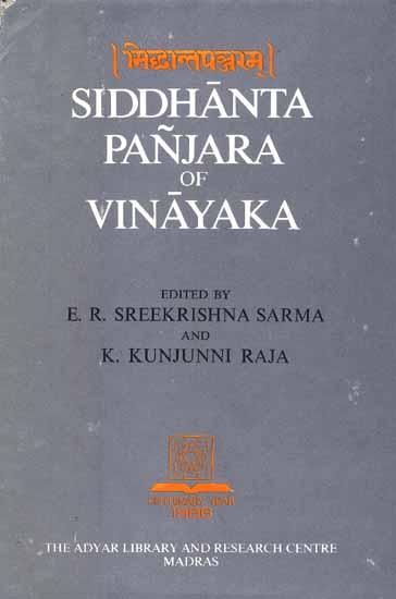 Siddhanta Panjara of Vinayaka