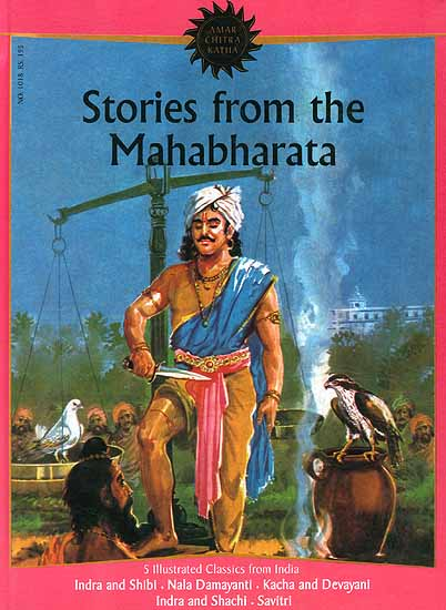 Stories from the Mahabharata (Hardcover Comic Book)