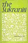 The Sukraniti - An Old Book
