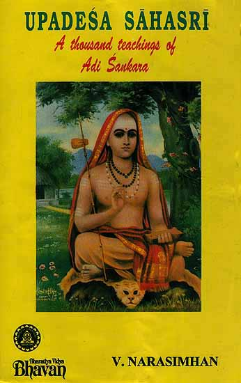 Upadesa Sahasri (A Thousand Teachings of Adi Sankara) Rare Book