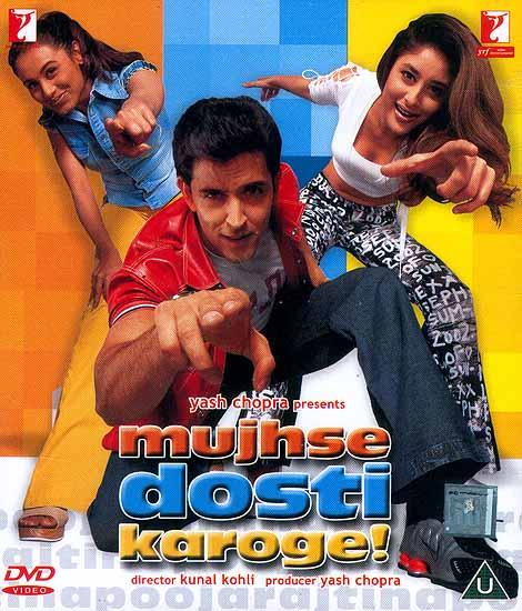 mujhse dosti karoge film all song mp3 download