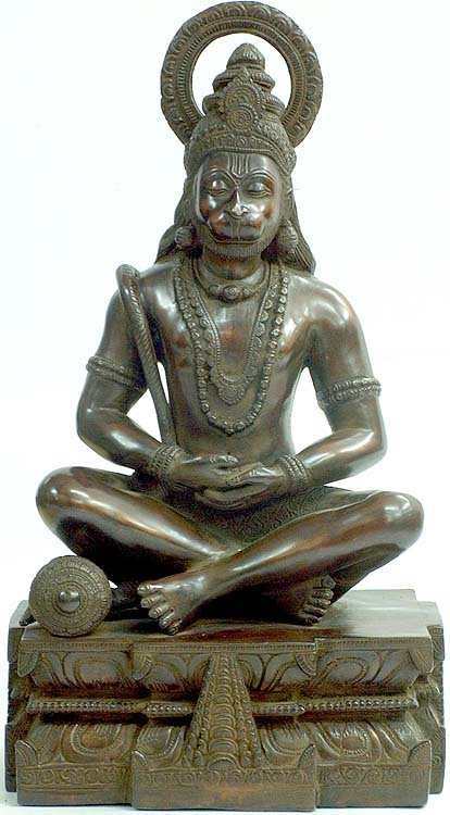 Hanuman as Yogachara