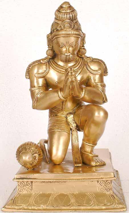 Hanuman, Humble and Powerful