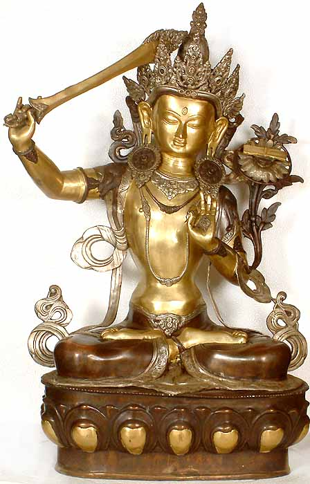Manjushri, Buddhist God of Wisdom