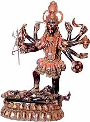 Ten-Armed Black Kali, or Mahakali
